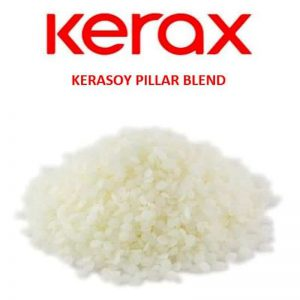 Kerasoy Pillar Blend Wax Pellets – 2kg