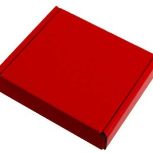 Red Gift Pip Boxes (10cm x 10cm x 2cm)
