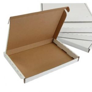 White Postal Pip Boxes C6 -160 x 110 x 20mm